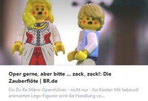 Lego-Zauberflöte