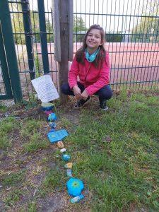 Steinschlangenstart Paavo-Nurmi-Grundschule